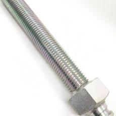 旋盤加工事例88 ジャッキボルト SS400
